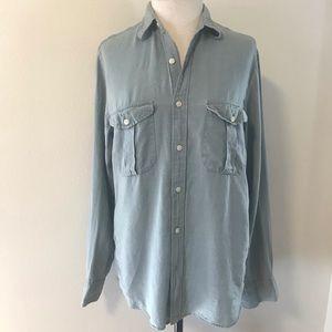 J.Crew long Sleeve linen shirt